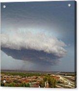 Storm Over Badlands 2am-115139 Acrylic Print