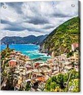 Storm Over Cinque Terre Acrylic Print