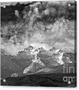 Storm Over Como Acrylic Print