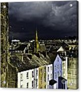 Storm Over Conwy Acrylic Print