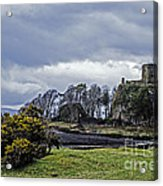 Storm Over Dunollie Acrylic Print