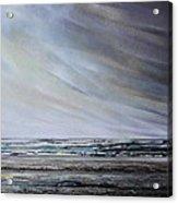 Storm Over Hauxley Haven Northumberland 1 Acrylic Print