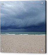 Storm Over Lake Michigan Acrylic Print