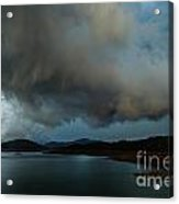 Storm Over Lake Shasta Acrylic Print