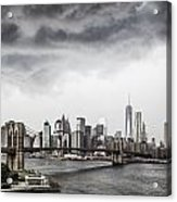 Storm Over Manhattan Acrylic Print