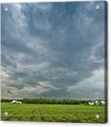 Storm Over Nursery Acrylic Print