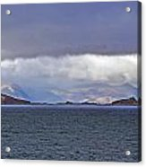 Storm Over Oban Bay Acrylic Print
