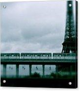 Storm Over Paris Acrylic Print