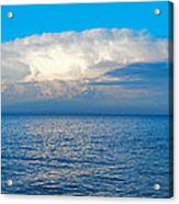 Storm Over Whitefish Bay Acrylic Print