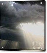 Storm Rays Acrylic Print