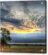 Storm Rolling Through Acrylic Print
