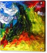 Storm.. Acrylic Print