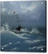 Storm Tossed Acrylic Print
