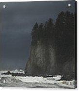 Storm At Lapush Washington State Acrylic Print