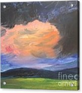 Stormchaser Acrylic Print by PainterArtist FIN