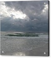 Stormclouds Over The Sea Acrylic Print