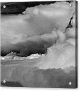 Storms Aloft B W Acrylic Print