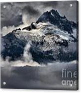 Storms Over Jagged Peaks Acrylic Print