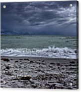 Storm's Rolling In Acrylic Print