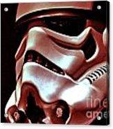 Stormtrooper Helmet 26 Acrylic Print