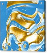 Stormtrooper Helmet 30 Acrylic Print