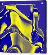 Stormtrooper Helmet 8 Acrylic Print