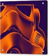 Stormtrooper Helmet 9 Acrylic Print