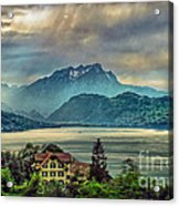 Stormy Atmosphere Acrylic Print