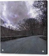 Stormy Blue Ridge Parkway Acrylic Print