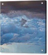 Stormy Blues - Casper Wyoming Acrylic Print