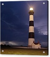 Stormy Bodie Lighthouse Outer Banks I Acrylic Print
