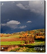 Stormy Countryside Acrylic Print