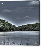 Stormy Day On The Potomac River Acrylic Print