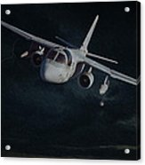 Stormy Flight Acrylic Print