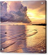 Stormy Glow Acrylic Print