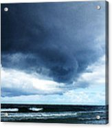 Stormy - Gray Storm Clouds By Sharon Cummings Acrylic Print