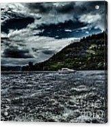 Stormy Loch Ness Acrylic Print