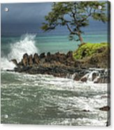Stormy Maui Morning Acrylic Print