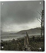 Stormy Oregon Coast Acrylic Print
