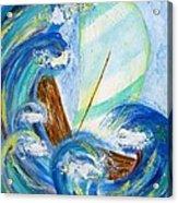 Stormy Sails Acrylic Print