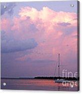 Stormy Seas Ahead Acrylic Print