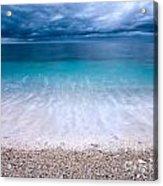 Stormy Seascape Acrylic Print