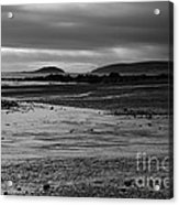 Stormy Skies At Seaton Sands Acrylic Print