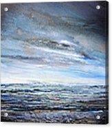 Stormy Sky  Hauxley Haven Series Blue Acrylic Print