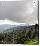 Stormy Smoky Mountains Acrylic Print