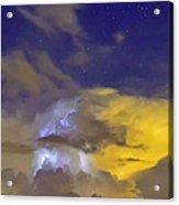 Stormy Stormy Night Acrylic Print