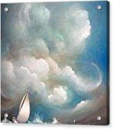 Stormy Sunday Acrylic Print