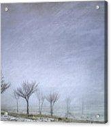 Stormy Wheather Acrylic Print