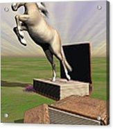 Story Book Acrylic Print