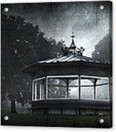 Storytelling Gazebo Acrylic Print by Svetlana Sewell